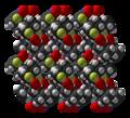 (4-fluoro-3-nitrophenyl)ferrocene-xtal-3D-SF.png