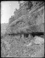 (Old No. 128) Cliff dwellings under Aubrey Limestone, Walnut Canyons Coconino County, Arizona. (Some - NARA - 517776.tif