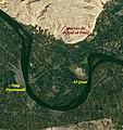 · Mapa del lugar del descubrimiento de los Códices de Nag Hammadi ·.jpg
