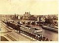 Édouard Baldus, Panorama de la Cité.jpg