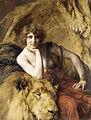 Émile Friant Woman with a lion 1919.jpg