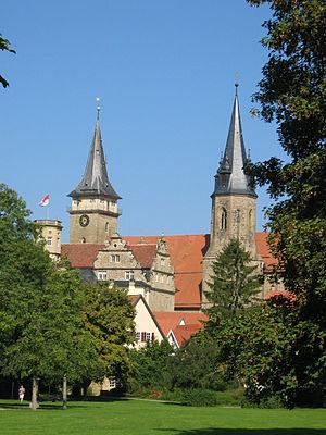 Öhringen - Image: Öhringen stiftskirche schloss