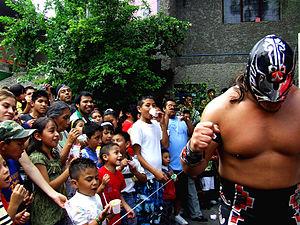 Homenaje a Dos Leyendas (2009) - Último Guerrero, won the main event Luchas de Apuestas match