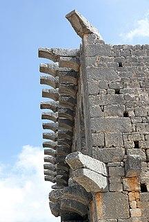 Üçayaklı ruins A villa rustica in Mersin Province, Turkey
