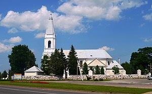 Šėta - Image: Šėtos bažnyčia 1
