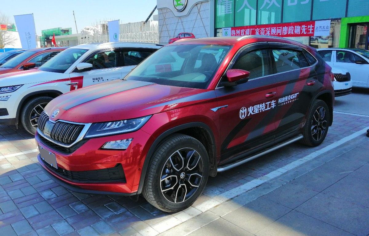 What Is A Crossover Suv >> Škoda Kodiaq GT – Wikipedia