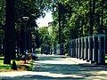 Алея з імёнамі герояў ... Alley with names of heroes - panoramio.jpg