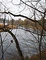 Бауска (Латвия) Река Мемеле (вверх по течению) - panoramio.jpg