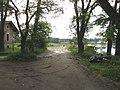 Въезд в Приоратский парк, берег Чёрного озера..JPG
