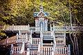 Гремячий ключ, Сергиево-Посадкий р-н. Главная лестница к Святому Источнику и киоту.jpg
