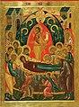 Копия иконы «Успение Богоматери». XVI в. Н.Н.Алексеева. 2009 г..jpg