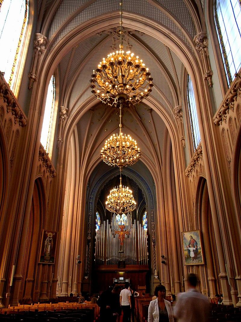 Костел св. Миколая, Будинок органної музики.jpg