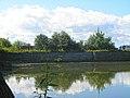 Кронштадт. Кронверкский канал (водоем) и южное батардо у Цитадельского шоссе.jpg