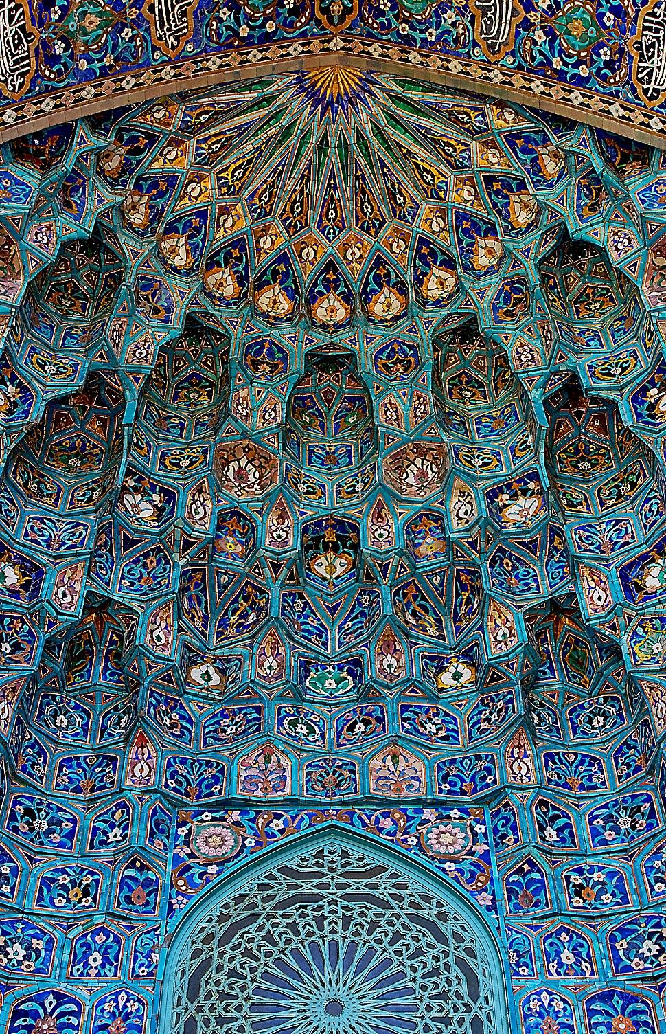 Мечеть Санкт-Петербурга. Майолика портала