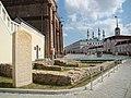 Могилы казанских ханов в Кремле; 2009.jpg
