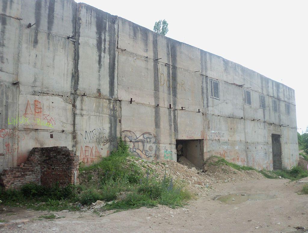 Заброшенные места СССР Объект 221