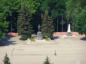 Tatsinsky District - Public memorials in Tatsinsky District