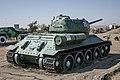 Танк Т-34, установленный в честь воинов-танкистов, гора Мыска.jpg