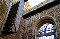 Церковь во имя Трех Святителей. Большой Могой, Астраханская область, часть лестницы.jpg