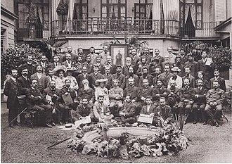 Jewish Territorialist Organization - Members of the Jewish Territorialist Organization