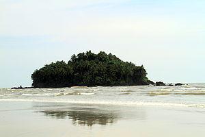 Dharmadom - Approaching Dharmadam island