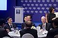 นายกรัฐมนตรีเข้าร่วมการหารือระหว่างรับประทานอาหารกลางว - Flickr - Abhisit Vejjajiva (7).jpg