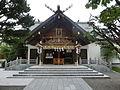 平成27年現在の西野神社拝殿.JPG