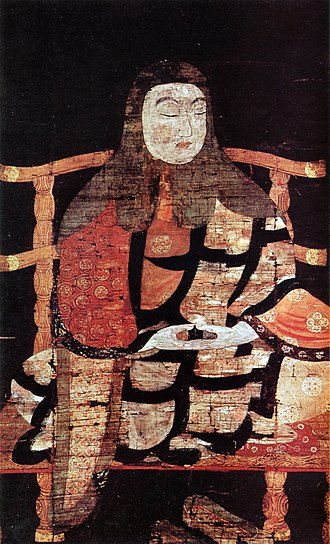 Tendai - Painting of Saichō, founder of the Tendai sect in Japan