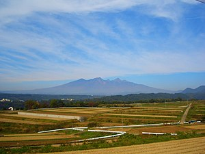 Yatsugatake Mountains - Image: 高根町から見た八ヶ岳 panoramio