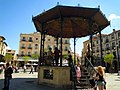 -2014-04-17 Bandstand in the Plaza Mayor, Segovia.JPG