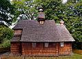 0.2014 Die Kirche Geburt Gottesmuter, 1743 erbaut, Łodzina.JPG