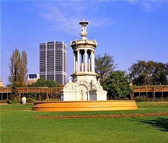 National Zoological Gardens of South Africa - The Sammy Marks Fountain in the Zoological gardens