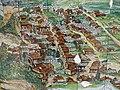 002 Plànol de Tavertet, a l'entrada del poble, detall del nucli antic.jpg