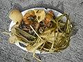 0099Nilagang repolyo, petsay Tagalog, kamote, patatas, kamatis at Pritong Dalag (Bulig) sa tanglad 24.jpg
