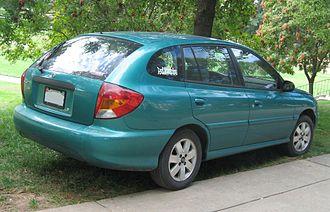 Kia Rio - Wagon (pre-facelift)