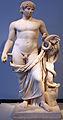 0135 Kolossalstatue mit Füllhorn, Schlange und Bildnis des Antinoos Altes Museum anagoria.JPG