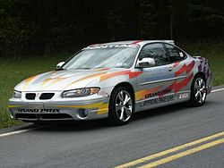 Safety car wikipedia 2001 winston cup now monster energy nascar cup series pace car a modified 2001 pontiac grand prix gtp coupe sciox Choice Image