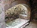 032 Castell de Montsoriu, llar de la cuina.jpg