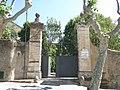 072 Can Figueres (Premià de Dalt), portal del recinte, riera de Sant Pere 88.jpg