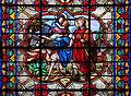 0 Saint-Omer - La Fuite en Égypte - Vitrail de la cathédrale Notre-Dame.JPG