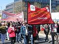 1. Mai 2013 in Hannover. Gute Arbeit. Sichere Rente. Soziales Europa. Umzug vom Freizeitheim Linden zum Klagesmarkt. Menschen und Aktivitäten (189).jpg