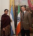 10.05.26 Macri recibió a la ministra de Asuntos Exteriores de la India (4642895474).jpg