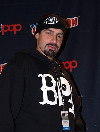 Q-Unique - Q-Unique at a panel on hip hop and comics at the 2014 New York Comic Con