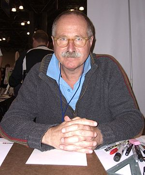 Brian Bolland - Bolland at the New York Comic Con in Manhattan, 9 October 2010.