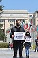 10 Protesters in Geneva demand the release of Armenian POWs, 15 April 2021.jpg
