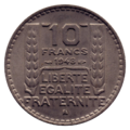 10 francs Turin revers.png