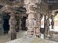 11th century Panchalingeshwara temples group, Kalyani Chalukya, Sedam Karnataka India - 94.jpg