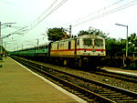 12717 Ratnachal Express at Marripalem