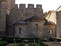 132 Abadia de Santa Maria, absidioles del creuer sud.jpg