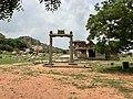 15th-16th century structures between Vitthala and Achyutaraya temple, Hampi Hindu monuments Karnataka.jpg